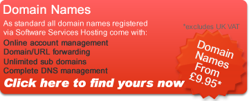 Domain names, find yours now from &pound �9.95*